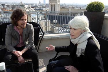 Françoise Hardy et Julien Doré chantent BB Baleine en duo Bichon_Dore_Hardy
