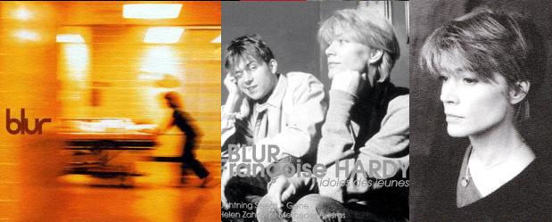 Françoise Hardy et Blur dans Pop Meeting (3ème extrait) Blur3