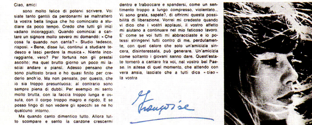 Françoise Hardy dans Ciao Amici (1er extrait) CiaoAmici1