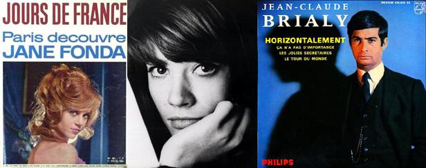 Jours de France - Françoise Hardy - Jean-Claude Brialy