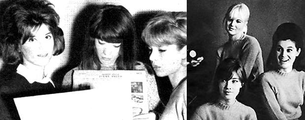 Françoise Hardy, Sheila et Sylvie Vartan réunies (2ème partie) Express2