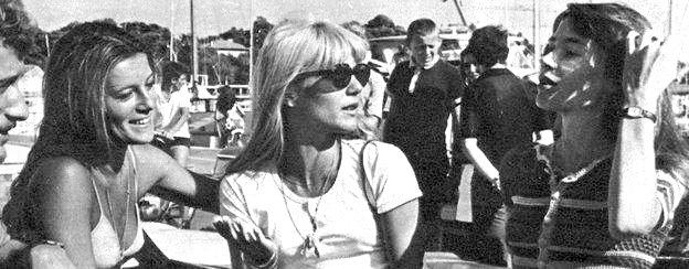 Françoise Hardy, Sheila et Sylvie Vartan réunies (5ème partie) Express5