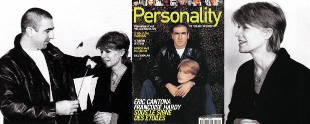 Françoise Hardy et Eric Cantona dans Personality (1er extrait) Personality1
