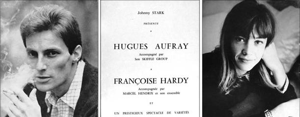 Françoise Hardy et Hugues Aufray