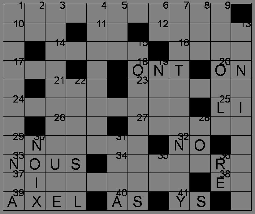 Mots Croisés - Grille du 9 avril 2011 Image58