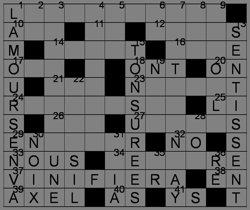Mots Croisés - Grille du 9 avril 2011 Image59