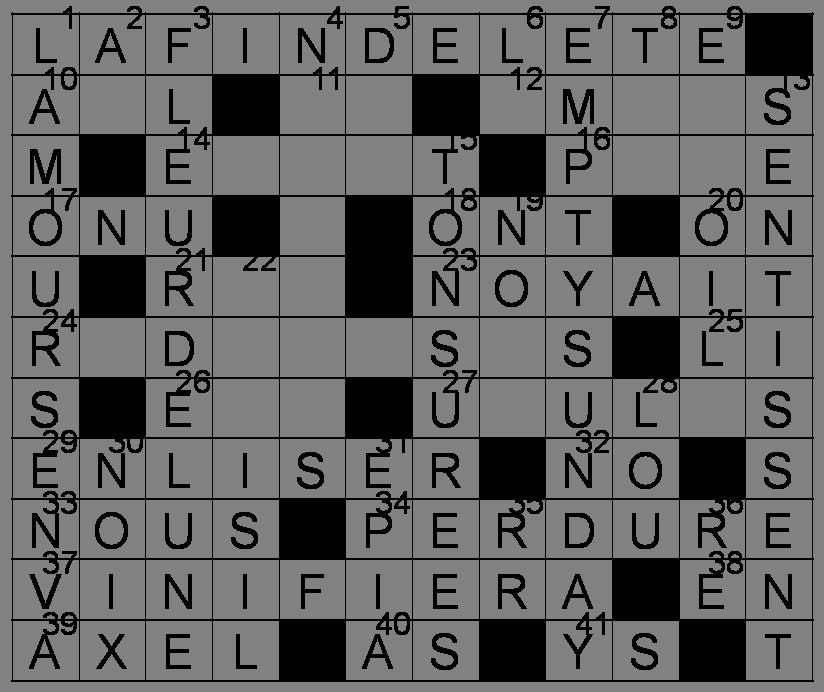 Mots Croisés - Grille du 9 avril 2011 Image61