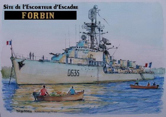 Escorteur d'Escadre Forbin