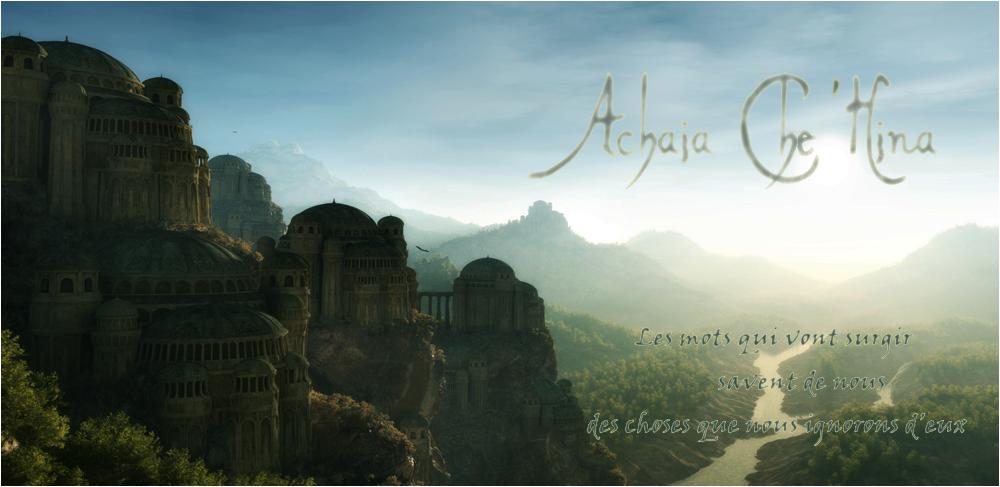 Royaume d'Achaïa Che'Hina