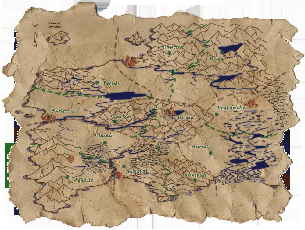 Carte de l'Eiralie Carte2-Comtes