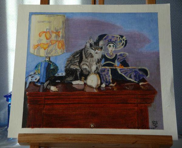 Portrait chaton au pastel gras 20090928_89