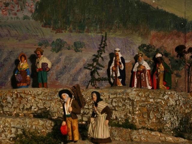 La crèche de Lucien et Agnès ou... l'arlésienne ! M3_Rois