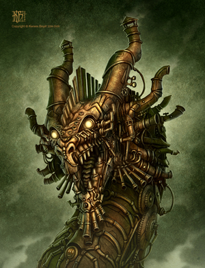 Les persos mythiques de la Nouvelle Ekoï [récupération V1] Steampunk_Dragon_by_kerembeyit_copie