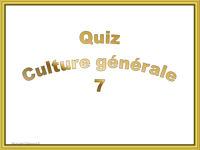 pps quiz culture générale7