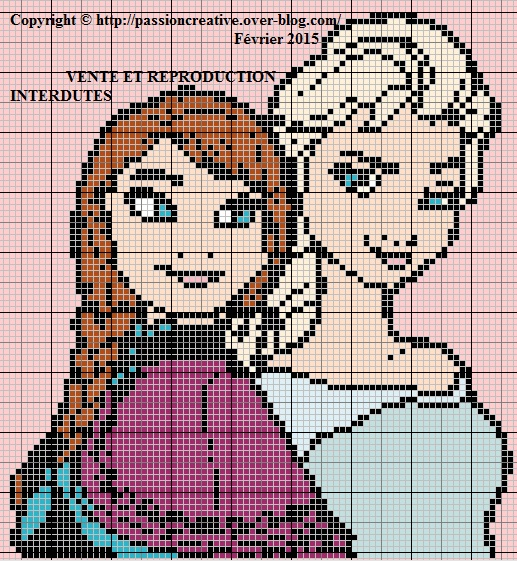 comment tricoter la reine des neiges