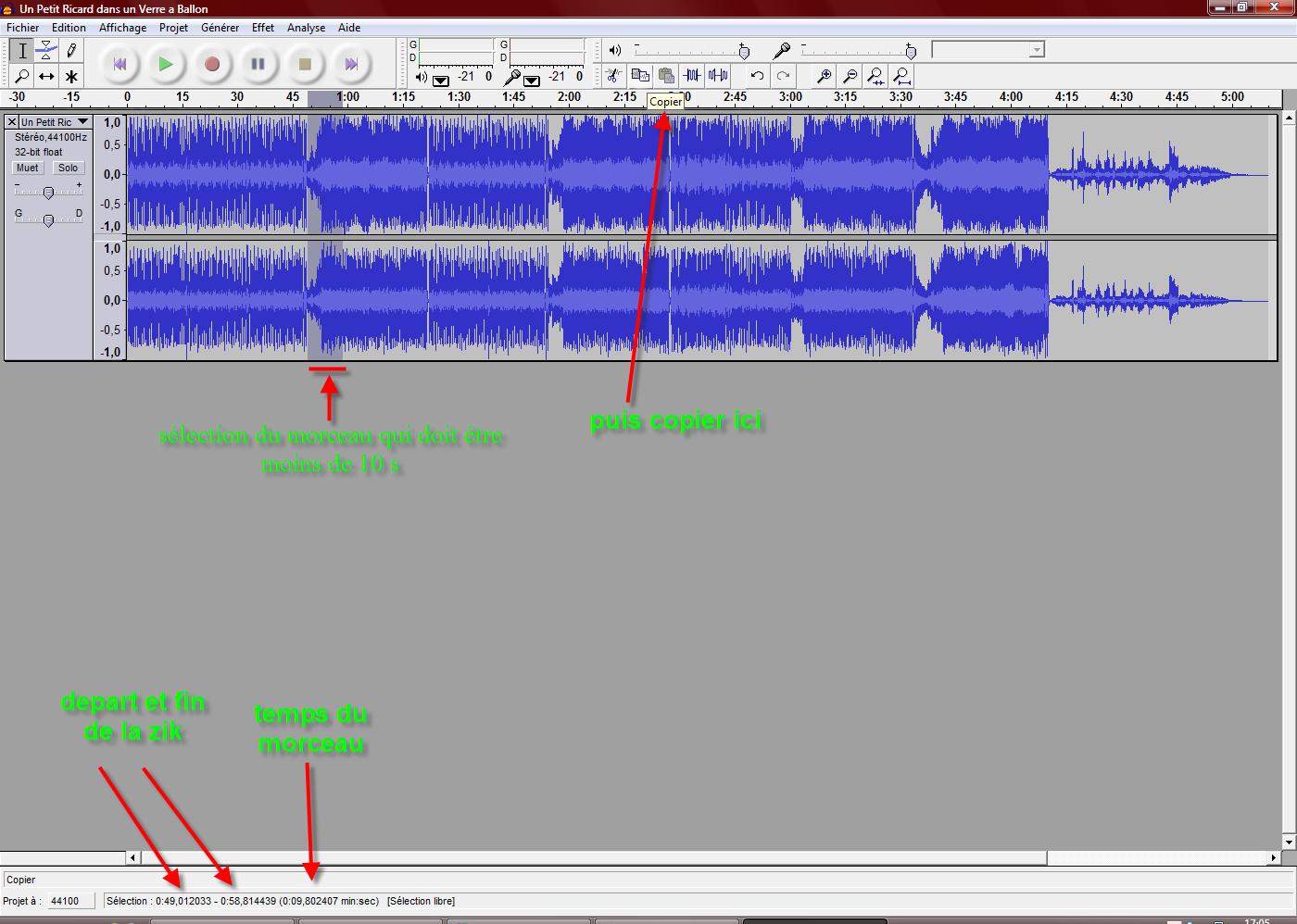 Comment créer un horn klaxon? Ph04